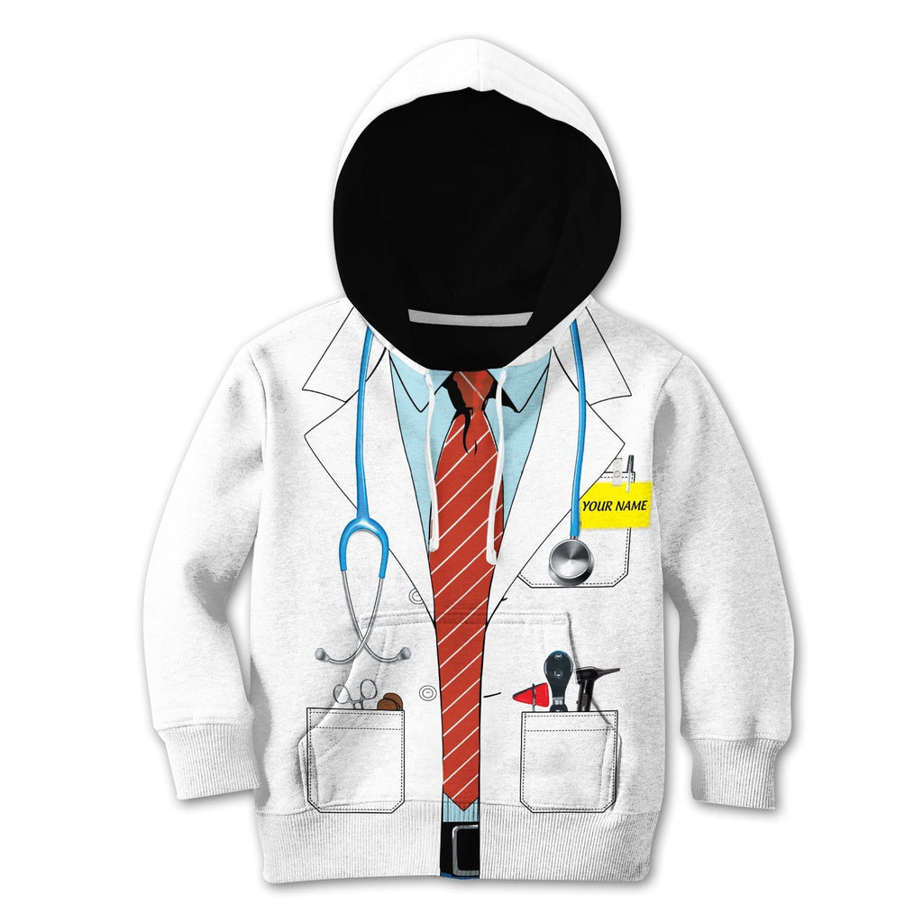 Kid Cosplay Doctor Custom Tshirt Hoodies Apparel