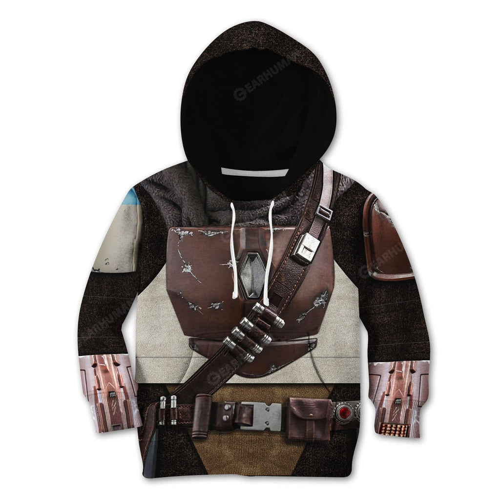 Kid The Mandalorian Custom Tshirt Hoodies Apparel