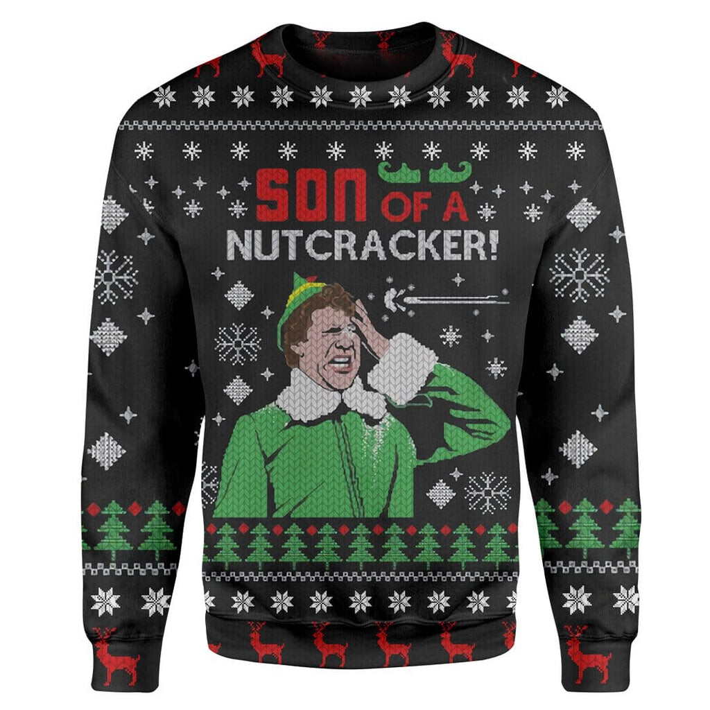 Custom Ugly Son Of A Nutcracker Christmas Sweater Jumper