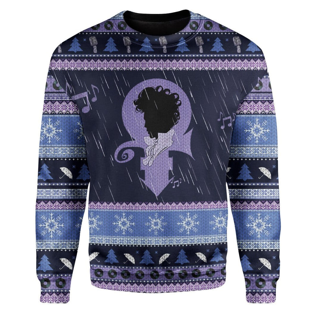 Custom Ugly Singer Christmas Sweater Jumper