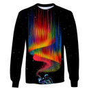 3D  Astronaut Filling Color OuterSpace Full-Print T-shirt - Hoodie