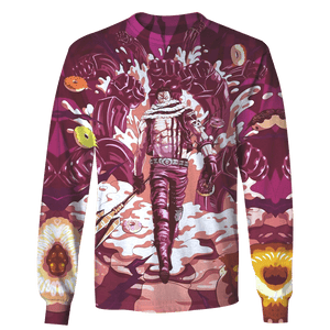 Gearhuman 3D Charlotte Katakuri One Piece  Tshirt - Zip Hoodies Apparel