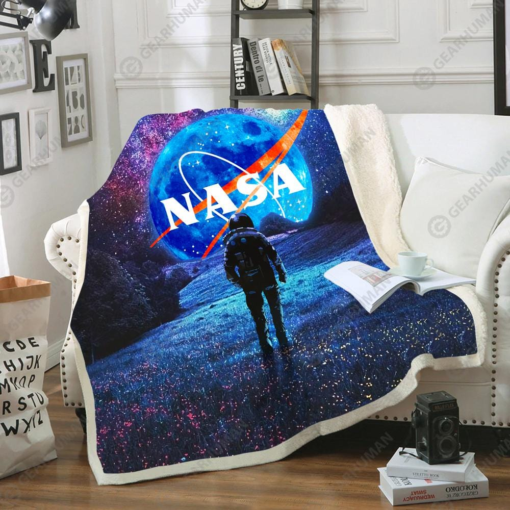 Custom Soft Blanket Nasa