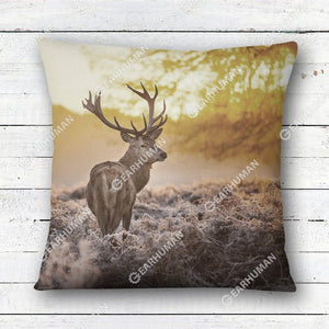 3D Full-Print Pillow Deer