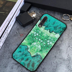 Gearhuman 3D Custom Glass Phone Case Cover Wood And Epoxy
