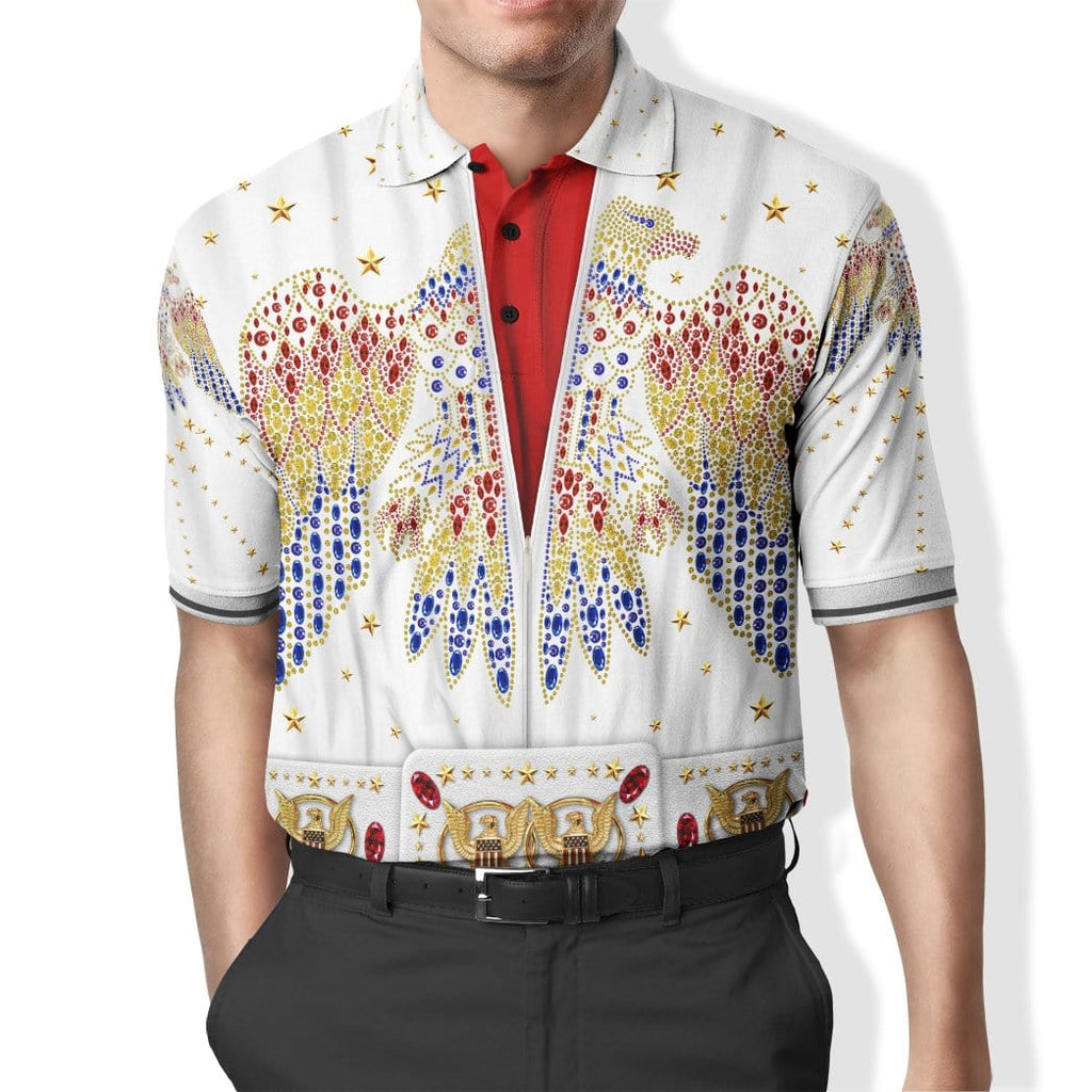 ELVIS PRESLEY Custom Polo T-Shirt Apparel