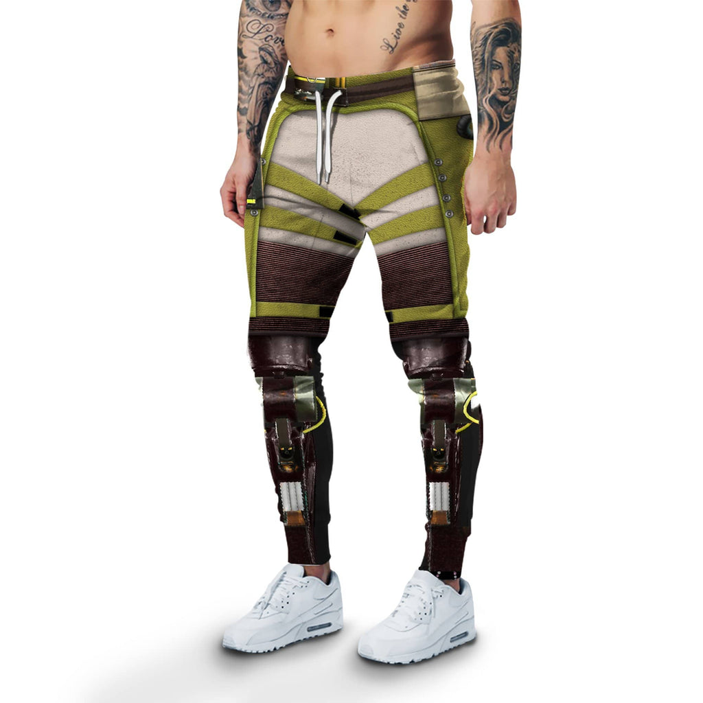 Gearhuman 3D Fullprint Sweatpants Cosplay Apex Legends Octane