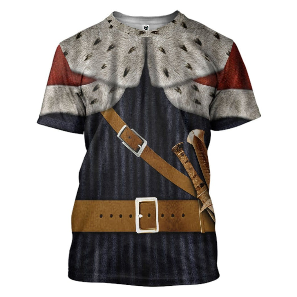 Gearhuman 3D King Alfred the Great Custom T-Shirts Apparel