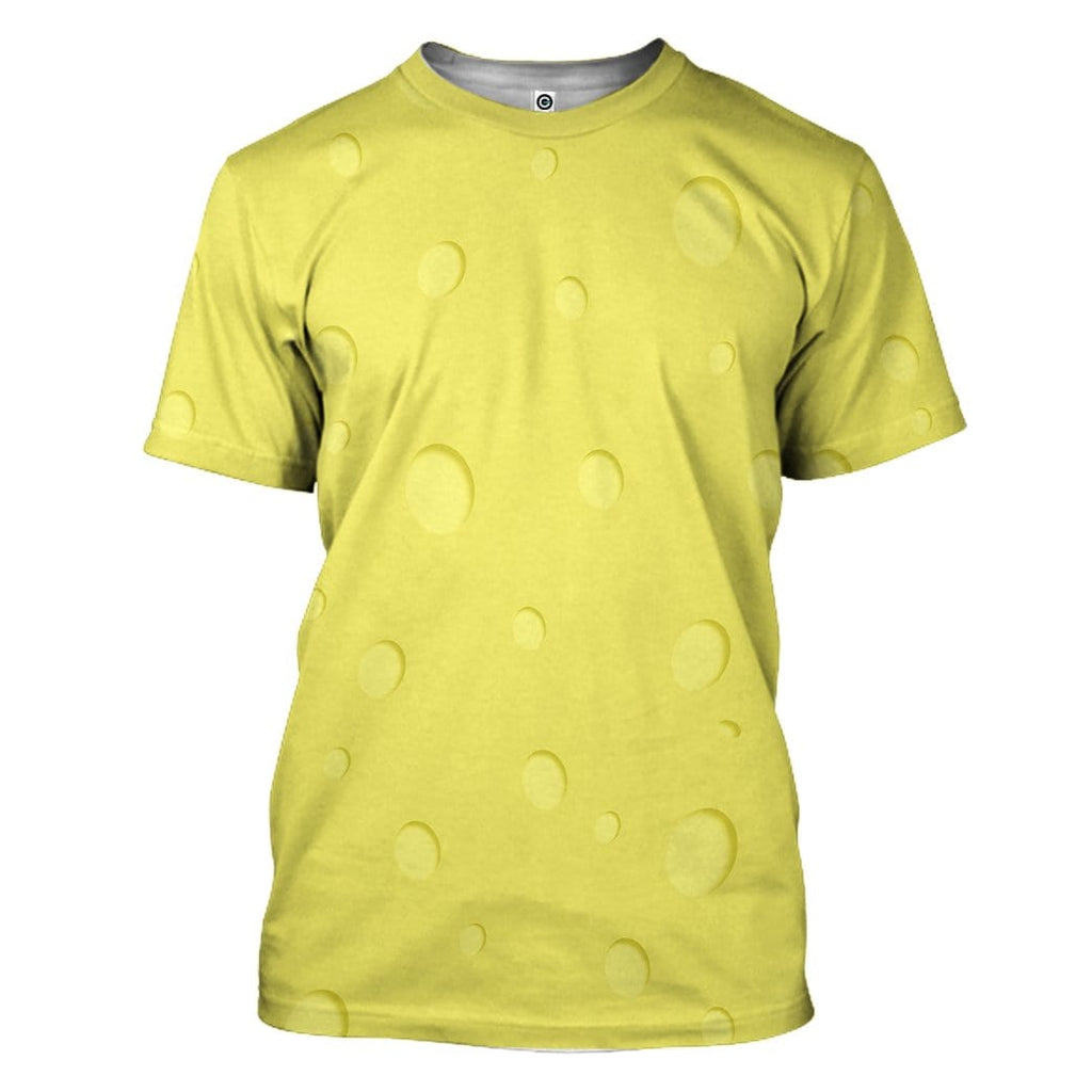 Gearhuman 3D SpongeBob Squarepants Custom T-Shirts Apparel
