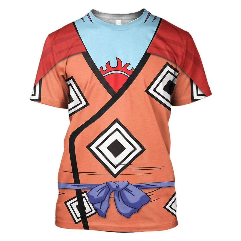 Cosplay Jinbe One Piece Custom T-Shirt Apparel