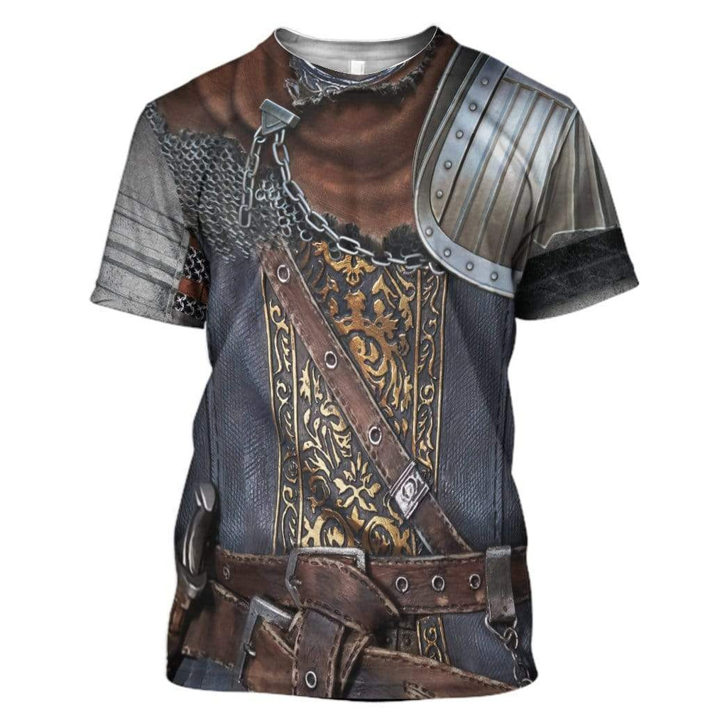 Cosplay Dark Souls Chosen Undead Custom T-Shirt Apparel