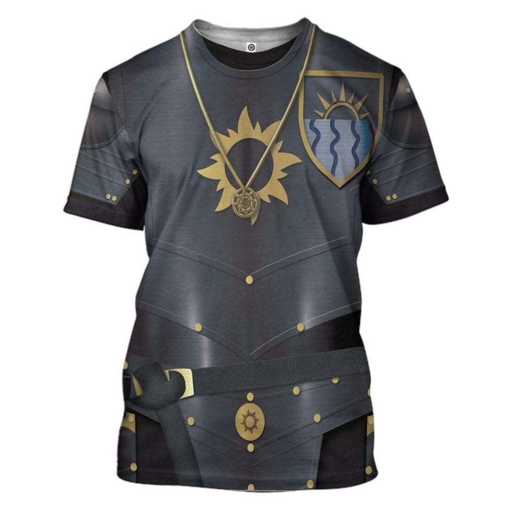 Cosplay Nilfgaardian Empire Soldiers The Witcher Custom T-Shirt Apparel