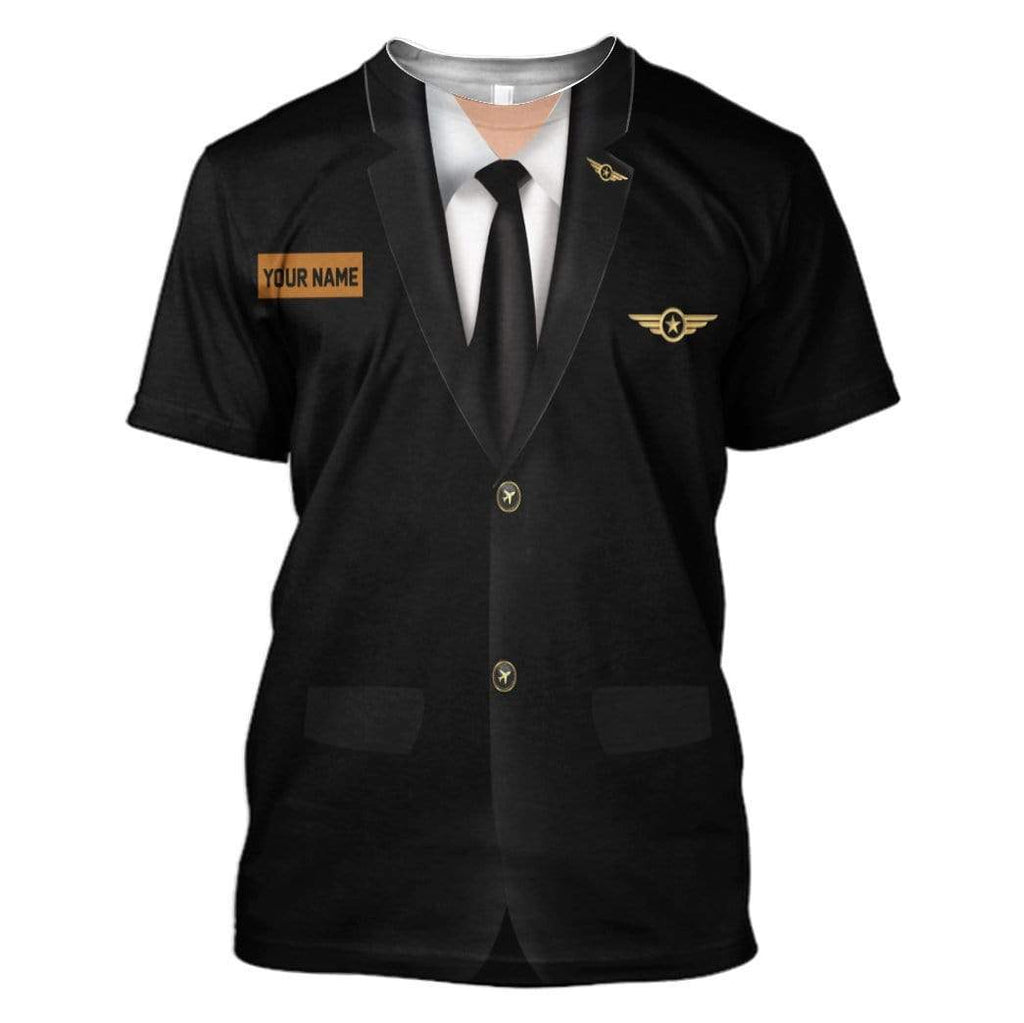 Cosplay Pilot Custom T-Shirt Apparel