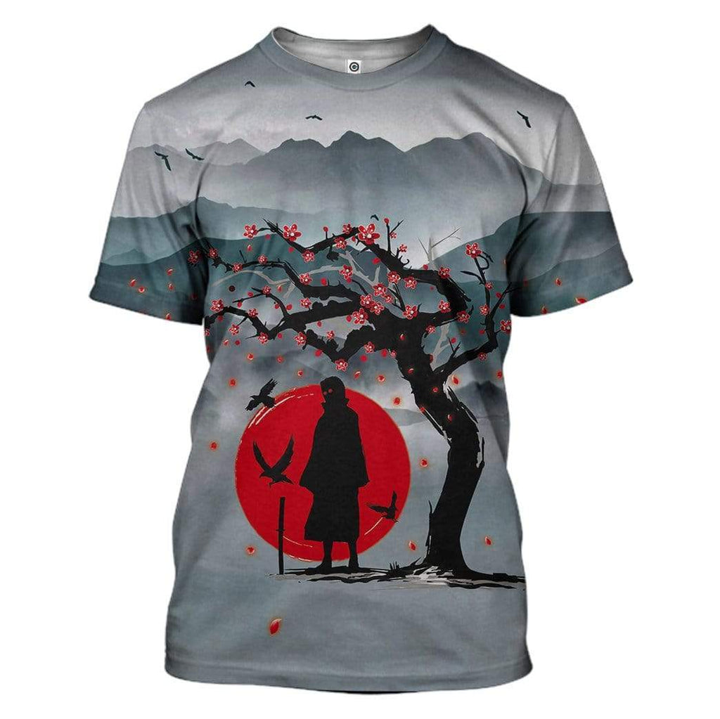 Naruto Night Of The Ninja Custom T-Shirt Apparel