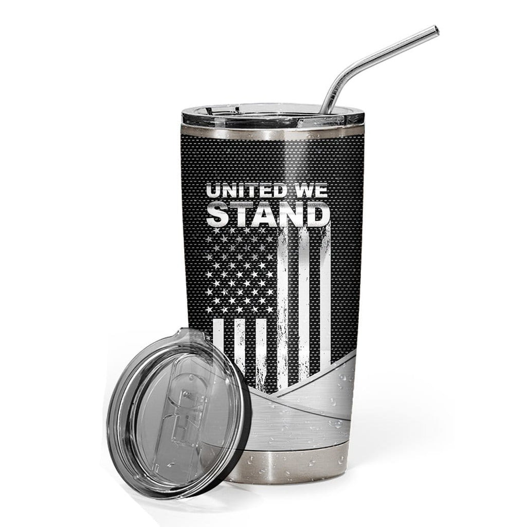 Gearhuman 3D US Marine Corps Custom Name Design Vacuum Insulated Tumbler