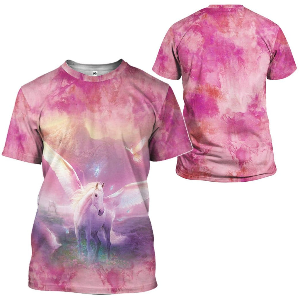 Gearhuman 3D Fantasic Unicorn Custom Tshirt Apparel