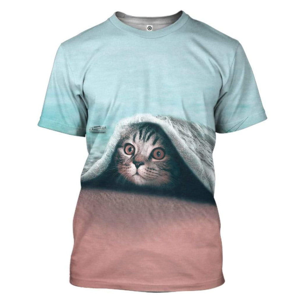Fantastic Cat Custom T-Shirt Apparel