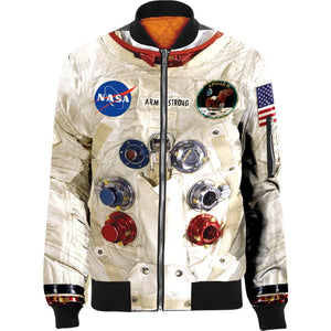 3D ARMSTRONG Nylon-blend Bomber Jacket Apparel