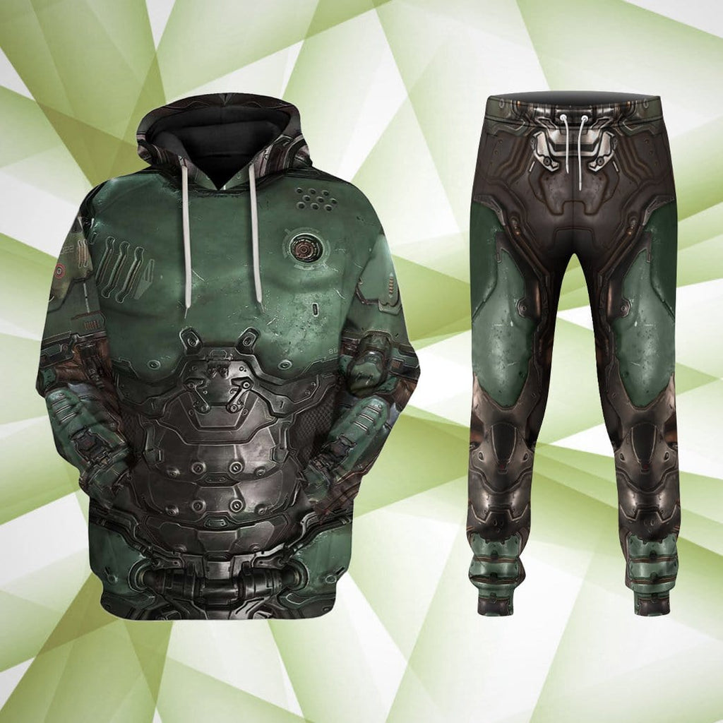 Gearhuman 3d Fullprint Sweatpants Cosplay Doom Slayer Doomguy