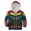 3D  CAPTAIN MARVEL   Kid Full-Print Hoodie T-shirt