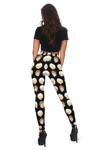 3D  golden girls  Full-print Leggings