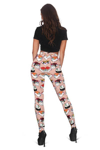 3D Sushi Unicorn Full-print Leggings