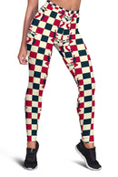 3D Jailhouse Rock Full-print Leggings