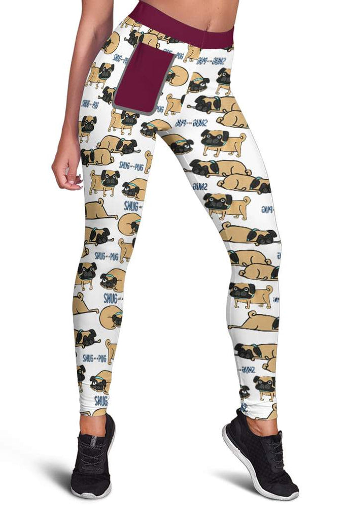 Snug As A Pug Legging Apparel