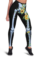 3D  Cute sunflower  Full-print Leggings