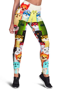 3D  CUTE ANIMALS  Full-print Leggings