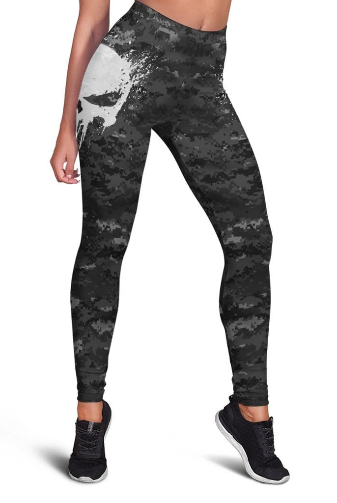 Skull Full-print Leggings