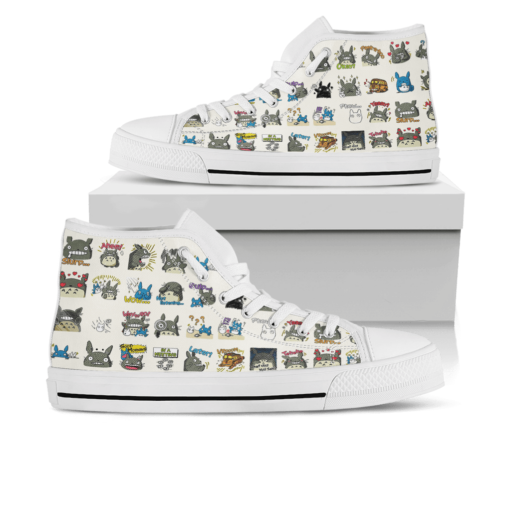 Gearhuman Totoro stickers - High Top Shoes