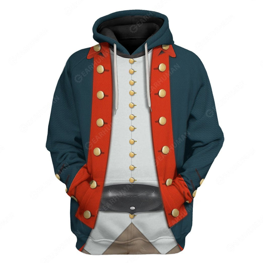 Hoodie Custom American Revolutionary War Apparel