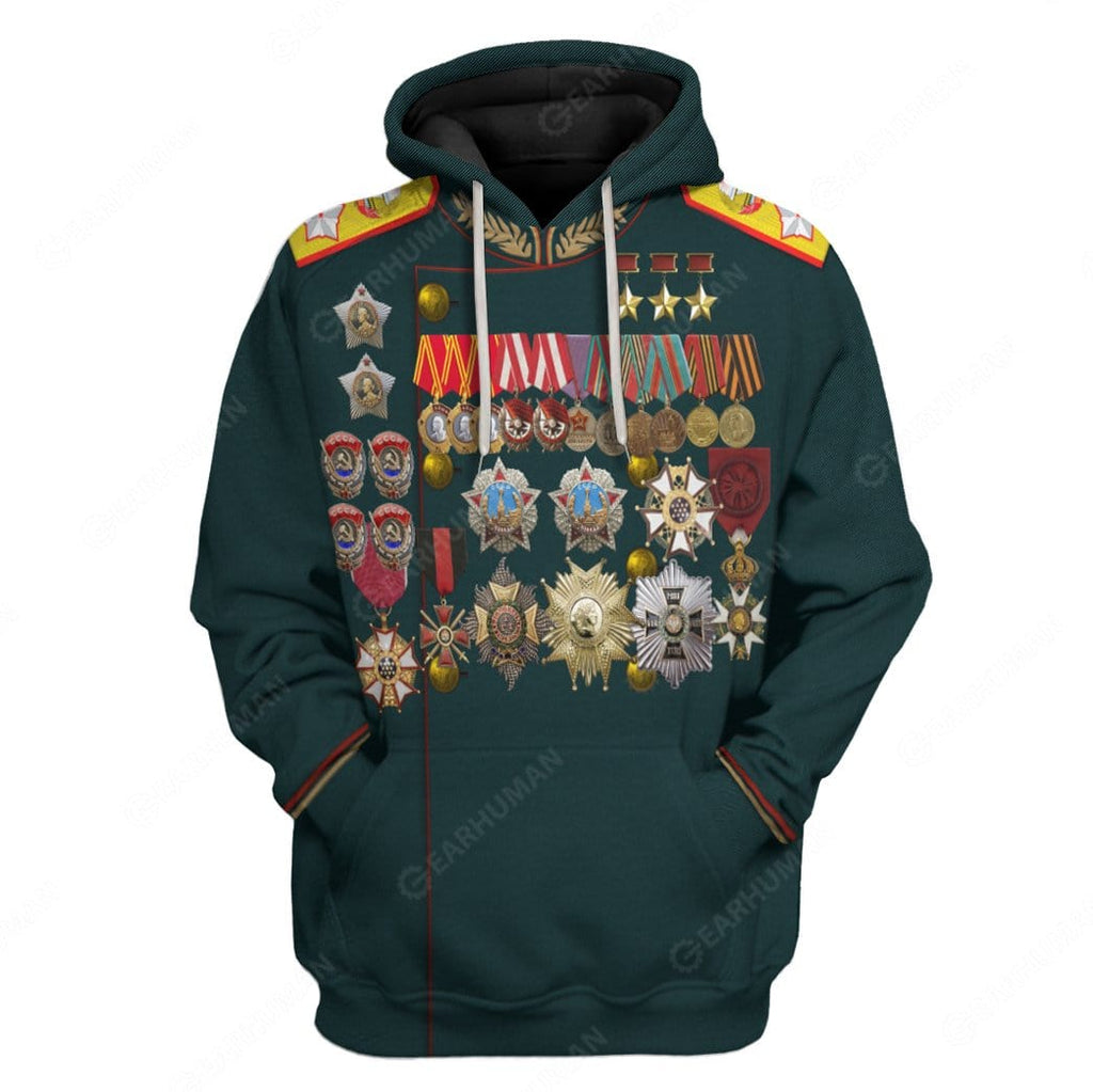 Hoodie Custom Georgy Zhukov Apparel