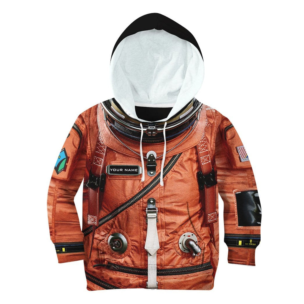 Gearhuman 3D Flightsuit Nasa Custom Kid Hoodie Apparel