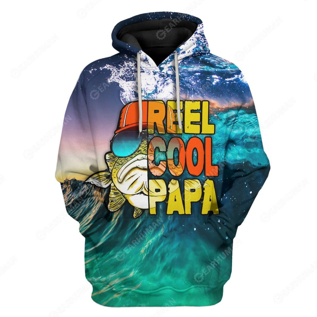 Custom Reel Cool Papa Apparel
