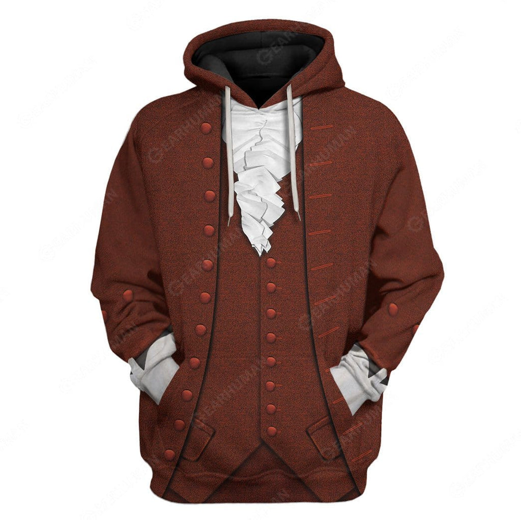 Hoodie Custom Benjamin Franklin Apparel