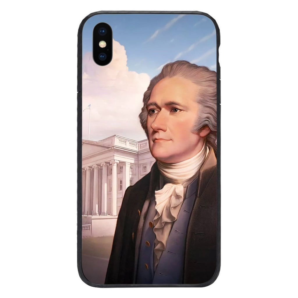 Custom Glass Phone Case Cover Alexander Hamilton