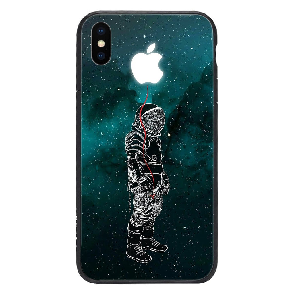 Custom Glass Phone Case Cover Astronaut