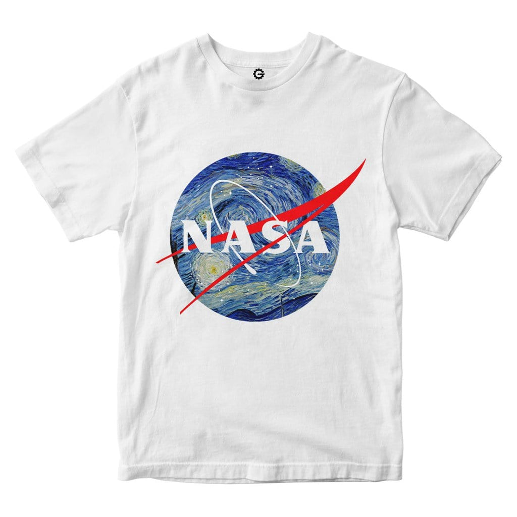 Van Gough NASA Custom Men Tshirt