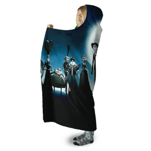 Gearhuman 3D Corpse Bride Custom Hooded Blanket
