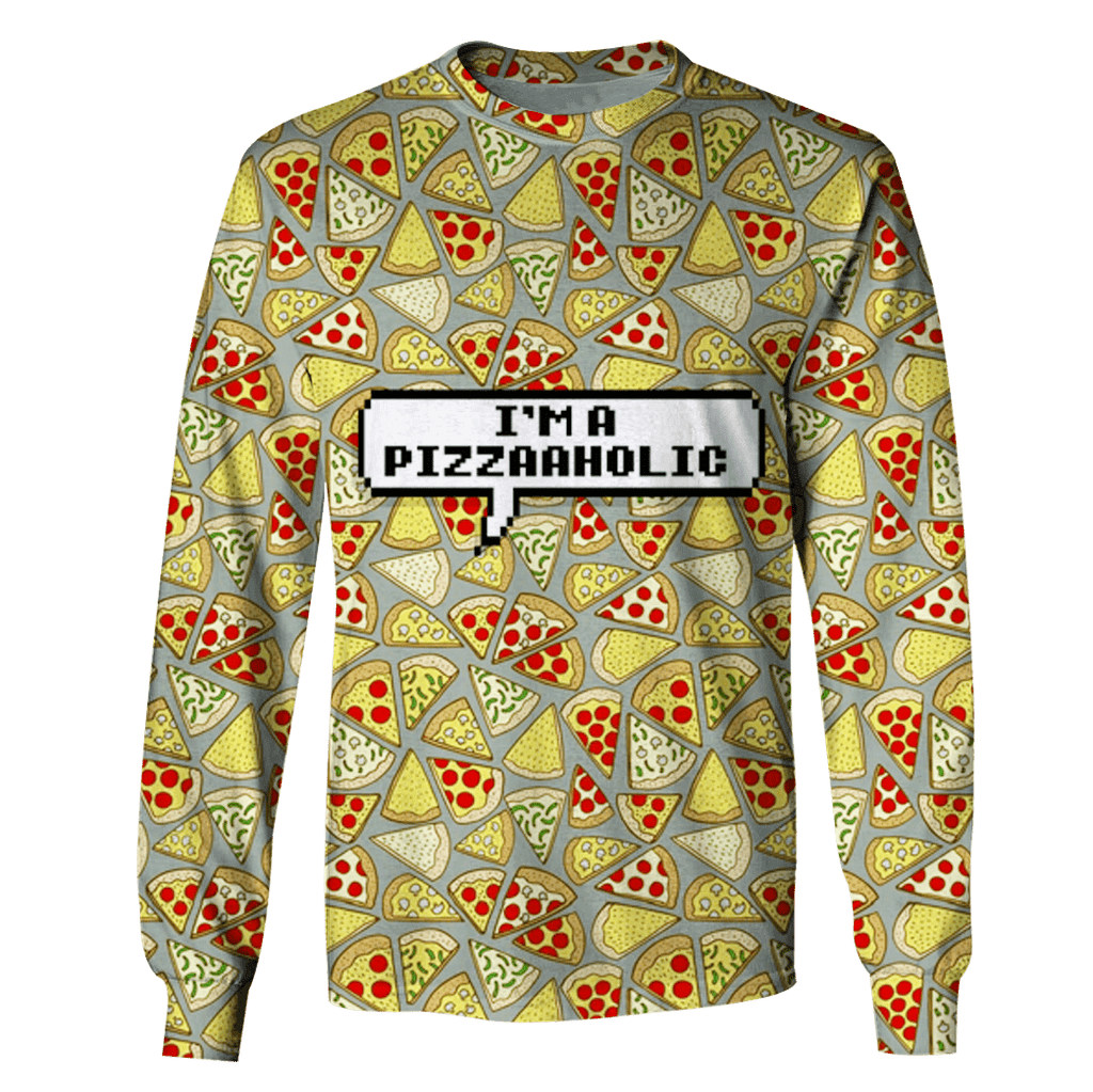 Pizza T-Shirts - Zip Hoodies Apparel