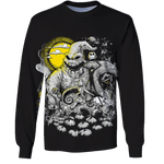 3D Nightmare before christmas Tshirt - Zip Hoodie