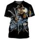 Gearhuman 3D Freddys Friday the 13th Tshirt - Zip Hoodies Apparel