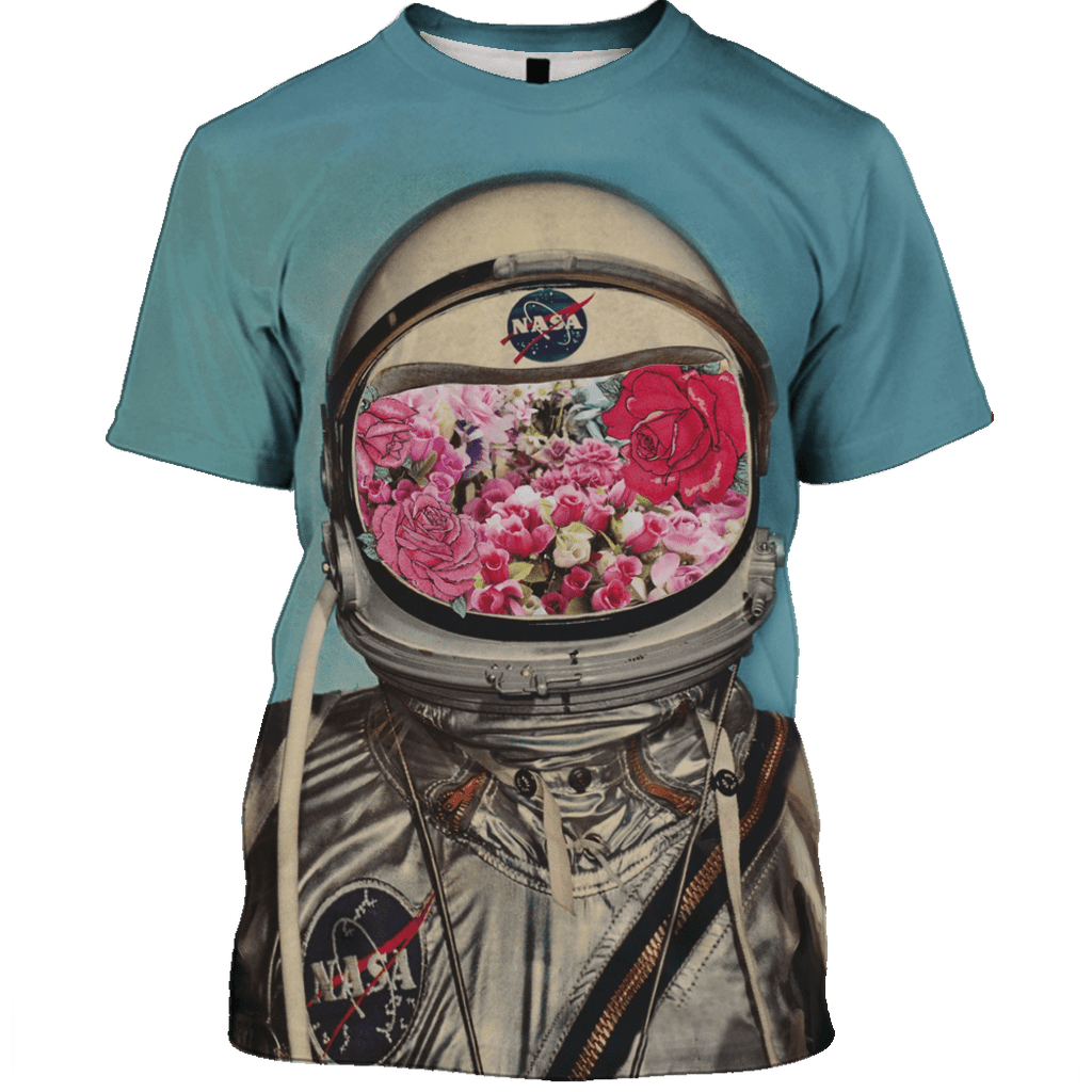 Astronaut OuterSpace Nasa Custom T-shirt - Hoodies Apparel