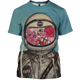 3D  Astronaut OuterSpace Nasa Full-Print T-shirt - Hoodie Apparel