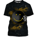 3D Astronaut  with the smile   Full-Print T-shirt - Hoodie