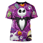 3D   The Nightmare Before Christmas  Hoodie - Tshirt