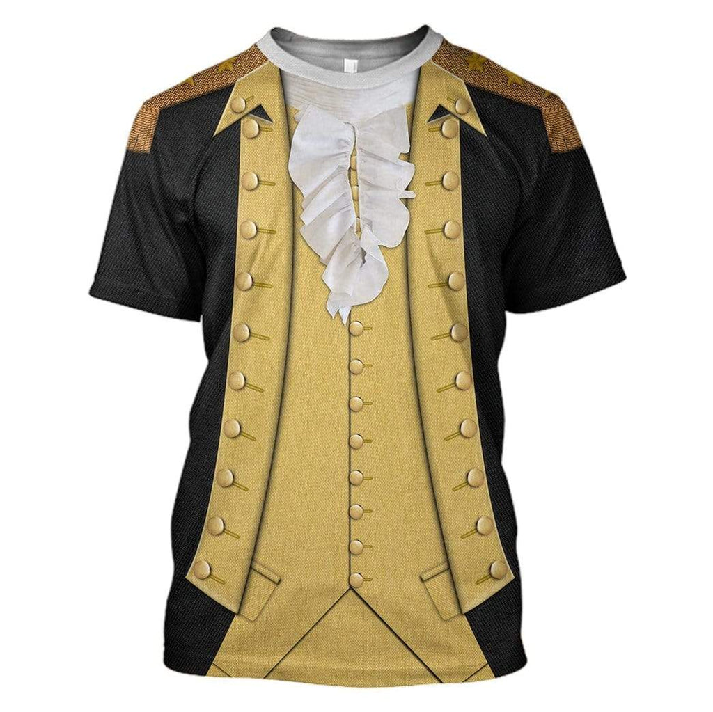 Hoodie Custom George Washington T-shirt - Hoodies - Sweater Apparel