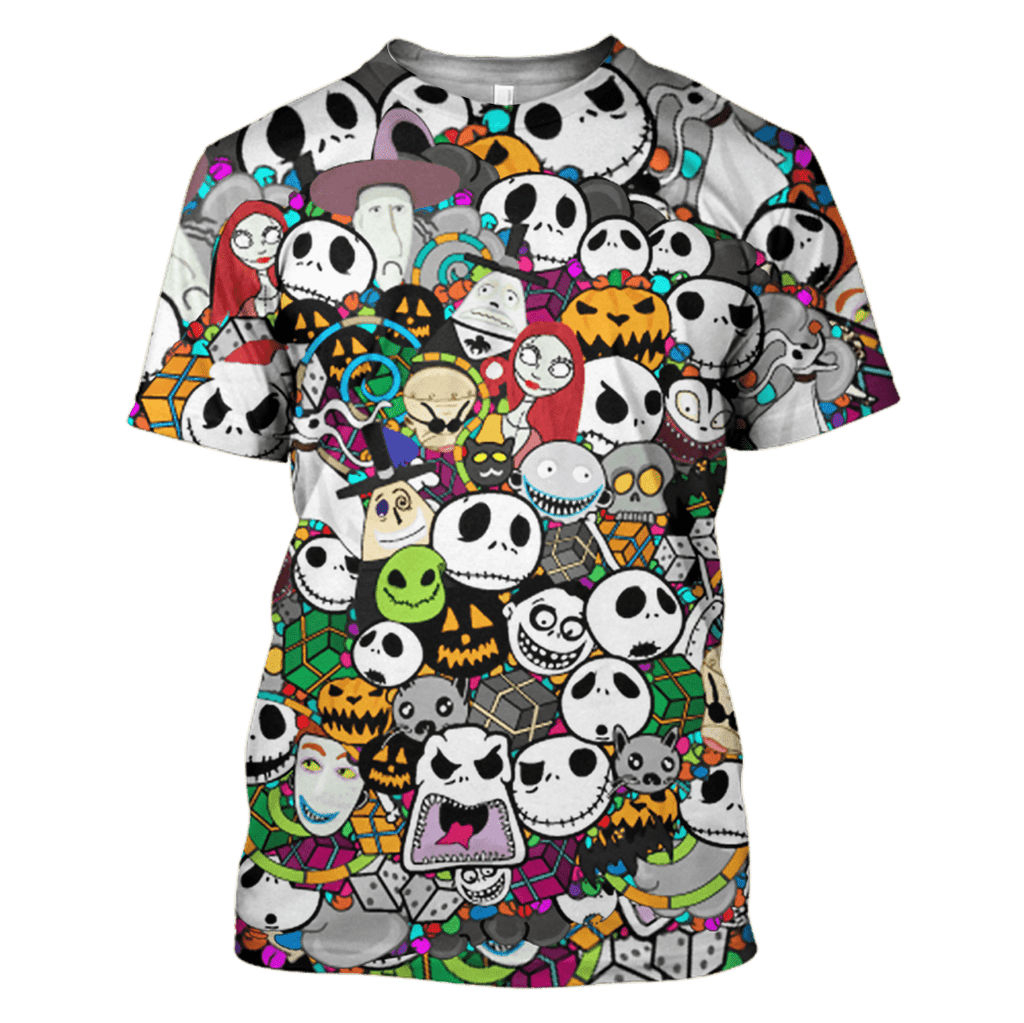 Nightmare before Christmas Hoodies - Tshirt Apparel